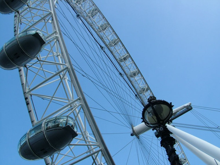 London Eye....before