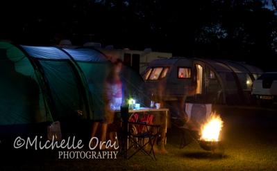 Camp at night 2