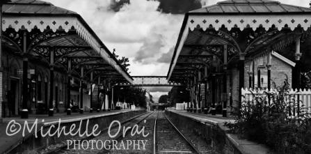 Hale Train Station, Cheshire