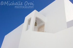 What do I like best, blue sky or white doorway?