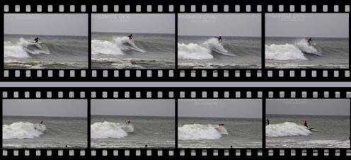 Surfer filmstrip