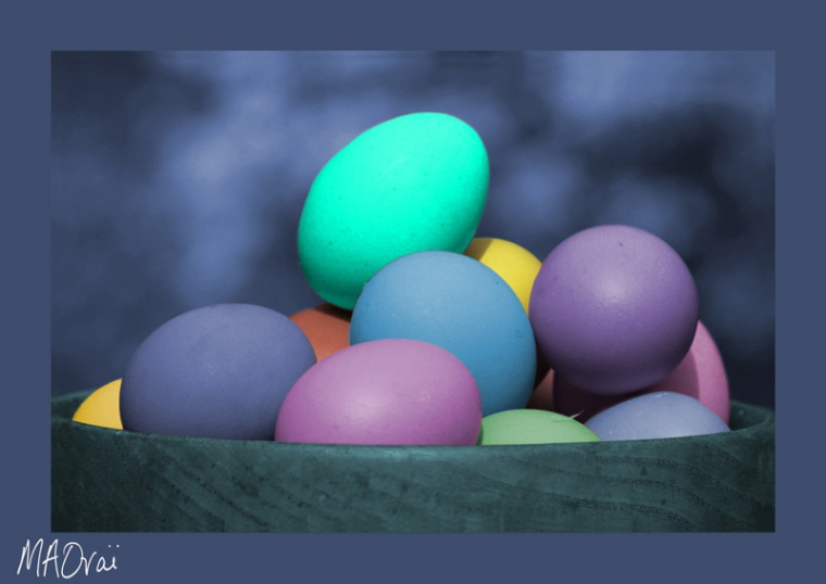 coloured-eggs